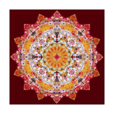Ornamental Flower Mandala 268-Alaya Gadeh-Art Print