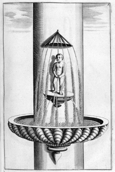 Ornamental Fountain Design, 1664-Georg Andreas Bockler-Giclee Print