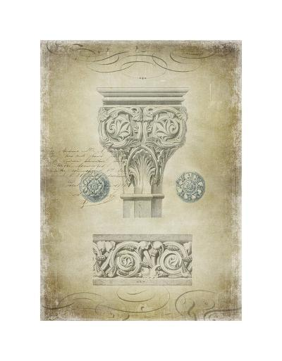 Ornamental I-Oliver Jeffries-Giclee Print