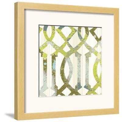 Ornamental I-Maja-Framed Art Print