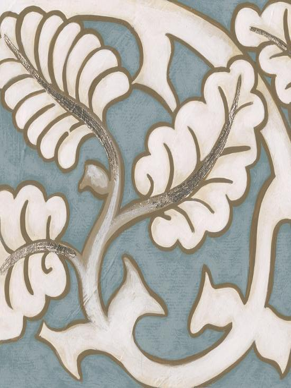 Ornamental Leaf II-Vision Studio-Art Print