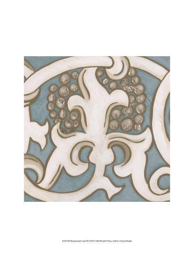 Ornamental Leaf III-Vision Studio-Art Print