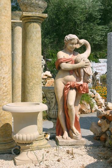Ornamental Statues, Kefalonia, Greece-Peter Thompson-Photographic Print