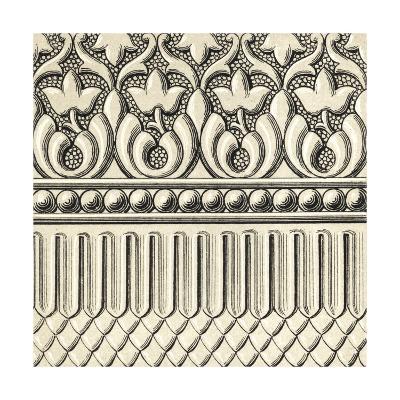 Ornamental Tile Motif V-Vision Studio-Art Print
