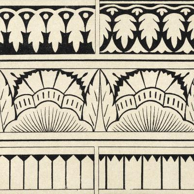 Ornamental Tile Motif VII-Vision Studio-Art Print