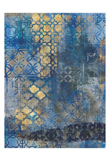 Ornate Azul A2-Smith Haynes-Art Print