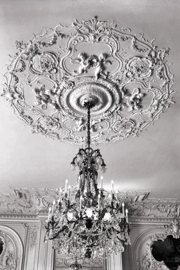 Ornate Ceiling Engraving-Mindy Sommers-Giclee Print