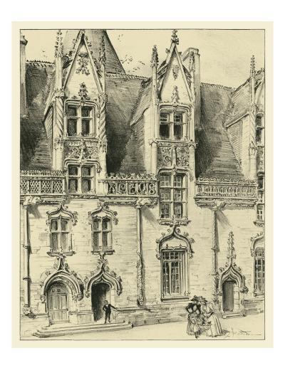 Ornate Facade II-Albert Robida-Art Print