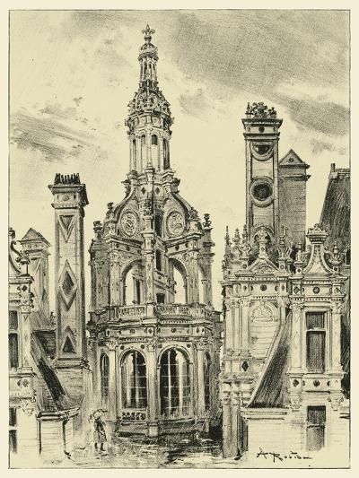 Ornate Facade III-Albert Robida-Art Print