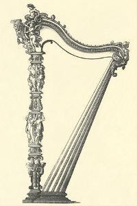 Ornate Harp Frame