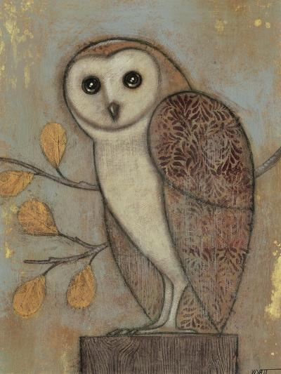 Ornate Owl II-Norman Wyatt Jr^-Art Print
