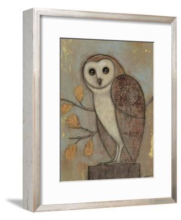 Ornate Owl II-Norman Wyatt Jr^-Framed Art Print