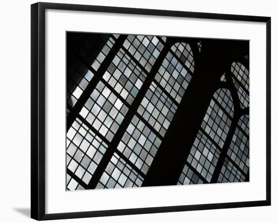 Ornately and Elaborately Decorative Stained Glass Windows of Cathedral--Framed Photographic Print