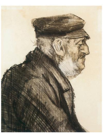 Orphan Man, Bust-Length-Vincent van Gogh-Premium Giclee Print
