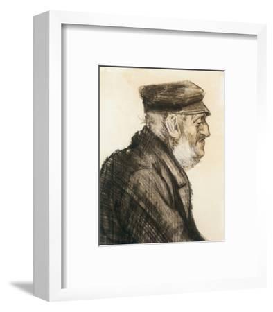 Orphan Man, Bust-Length-Vincent van Gogh-Framed Premium Giclee Print