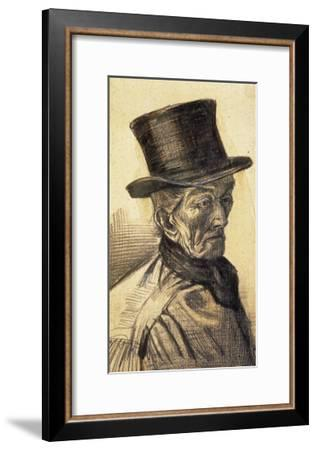 Orphan Man with Top Hat-Vincent van Gogh-Framed Art Print