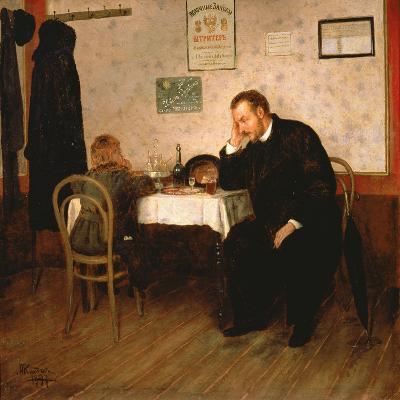 Orphaned, 1897-Baron Mikhail Petrovich Klodt von Jurgensburg-Giclee Print