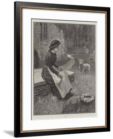 Orphans--Framed Giclee Print