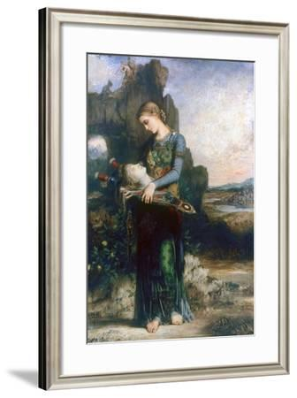 Orpheus, 1865-Gustave Moreau-Framed Giclee Print