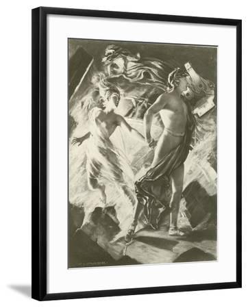 Orpheus and Eurydice, Act IV Scene I-William De Leftwich Dodge-Framed Giclee Print