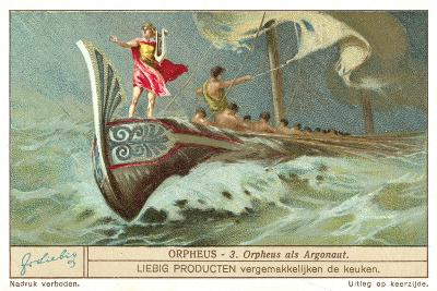 Orpheus as One of the Argonauts--Giclee Print