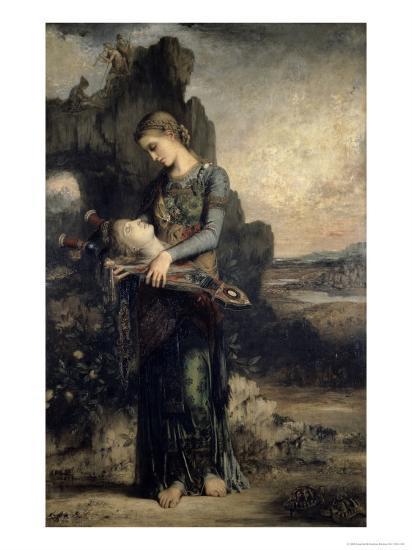 Orpheus, c.1865-Gustave Moreau-Giclee Print
