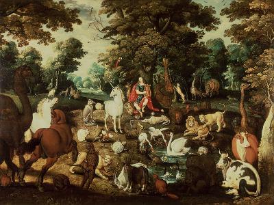 Orpheus Charming the Animals-Jacob Bouttats-Giclee Print