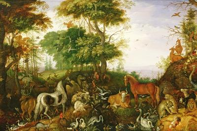 Orpheus Charming the Animals-Roelandt Jacobsz^ Savery-Giclee Print