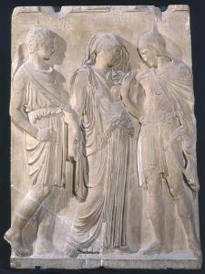 Orpheus, Eurydice and Hermes