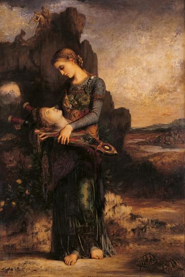 Orpheus-Gustave Moreau-Giclee Print