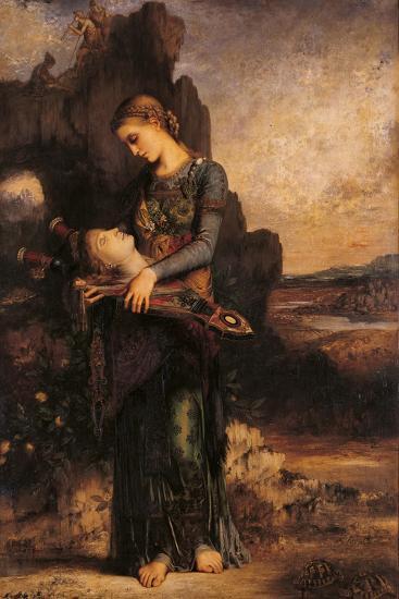 Orpheus-Gustave Moreau-Art Print