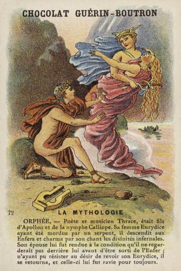 Orpheus--Giclee Print