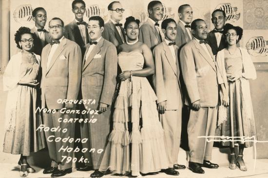 'Orquesta: Neno Gonzalez Cortesia - Radio Cadena Habana', c1910-Unknown-Photographic Print