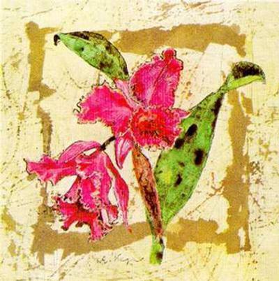 Orquidea-A^ Vega-Art Print