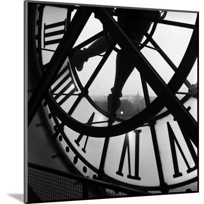Orsay Clock-Tom Artin-Mounted Print