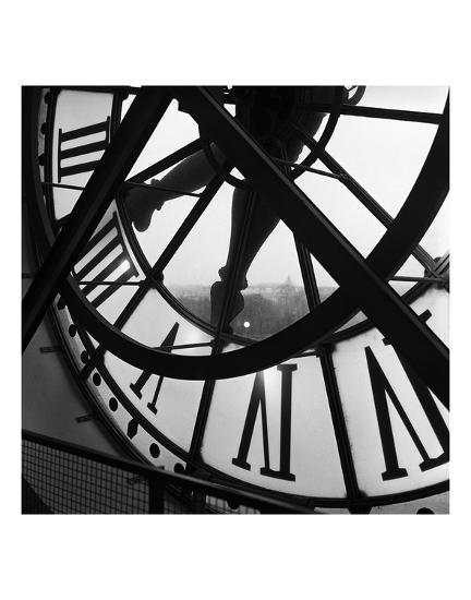 Orsay Clock-Tom Artin-Art Print