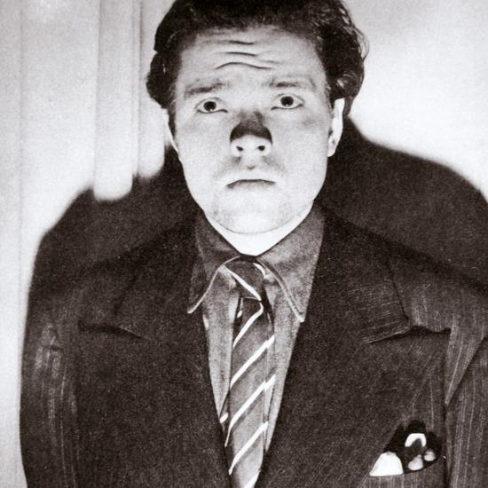 Orson Welles, American actor and film director, 30 October 1938-Unknown-Photographic Print