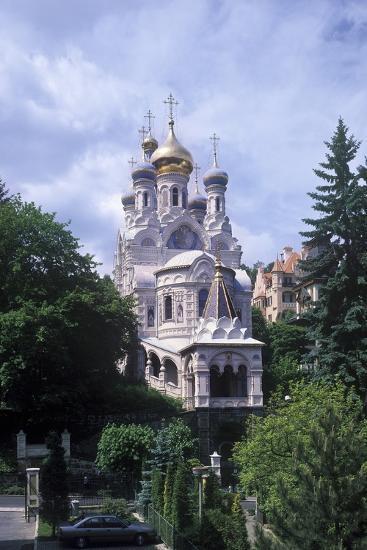 Orthodox Church of Saints Peter and Paul, Karlovy Vary, Czech Republic--Photographic Print