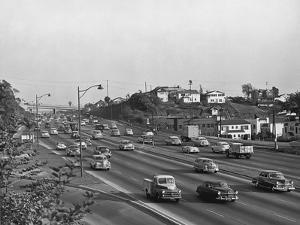Hollywood Freeway by Orville Logan Snider