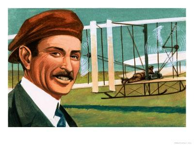 Orville Wright--Giclee Print