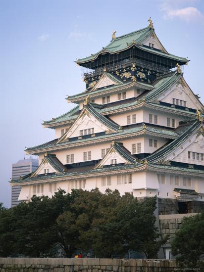 Osaka Castle Osaka Honshu Japan Photographic Print Art Com