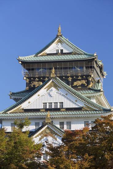 Osaka Castle Osaka Kansai Japan Photographic Print Ian Trower Art Com