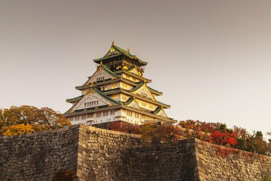 Osaka Castle Osaka Kansai Japan Photographic Print Christian Kober Art Com