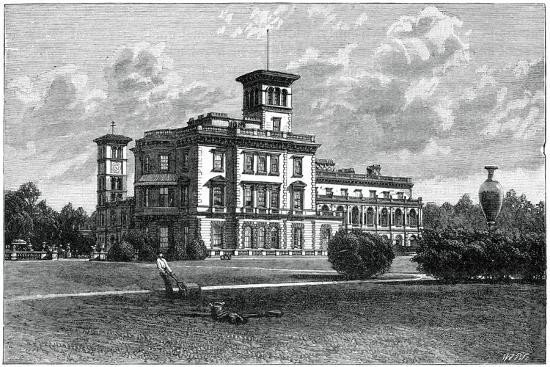 Osborne House, East Cowes, Isle of Wight, 1900-J Valentine-Giclee Print