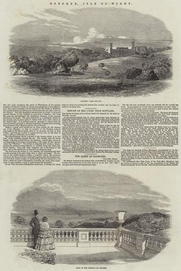 Osborne, Isle of Wight--Giclee Print
