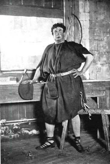 Oscar Asche (1871-193), Australian-Born British Actor--Giclee Print