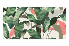 Summer seamless pattern-Oscar Ghost-Art Print