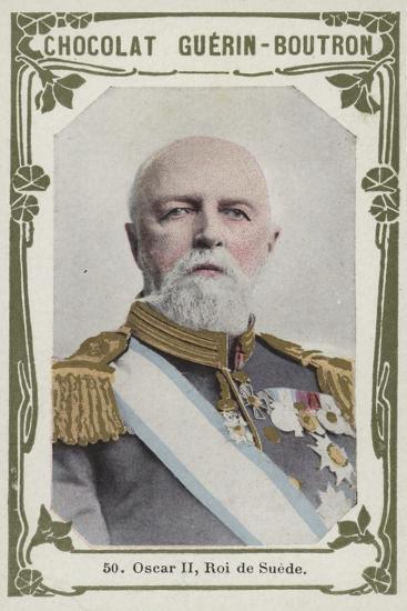 Oscar Ii, Roi De Suede--Giclee Print