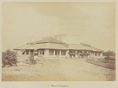 Planter's bungalow, 1877
