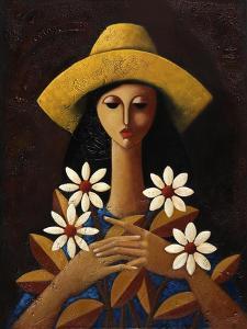 Five Daisies by Oscar Ortiz